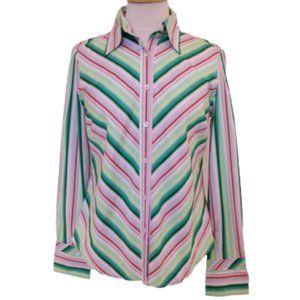 *3 For $25* Tommy Hilfiger Cotton Shirt- Sz. Med